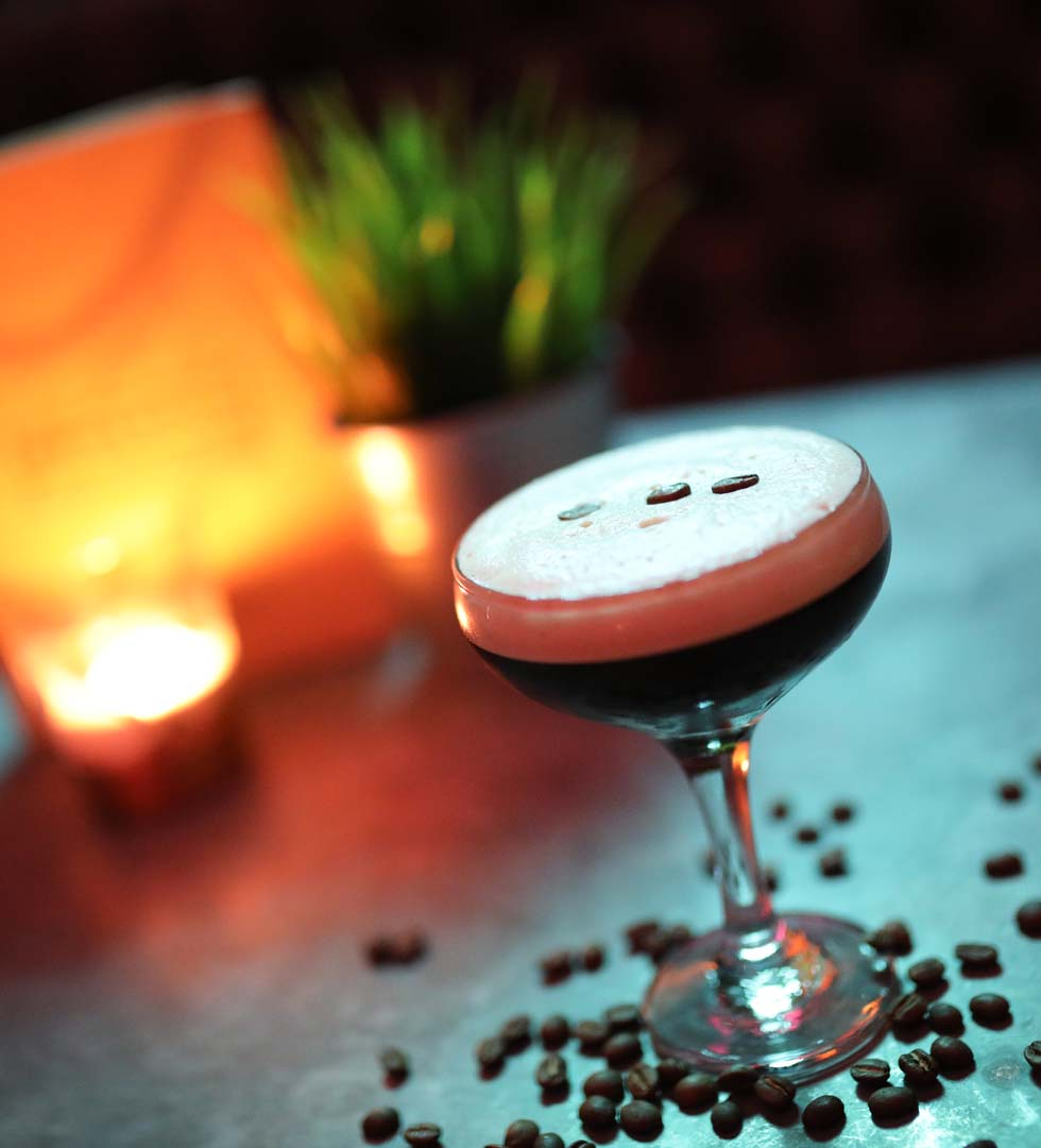 Coffee Cocktails at The Brick Room